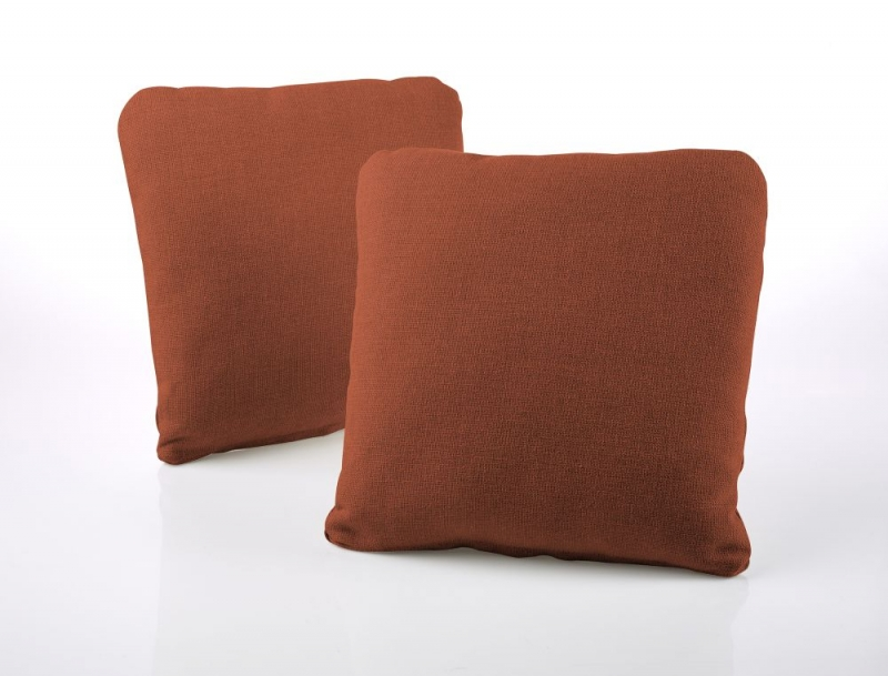 Jay-Be Square Copper Scatter Cushion (Pair)