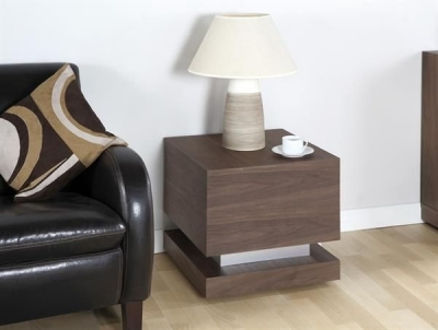 Jual Cube Walnut Lamp Table JF613LT