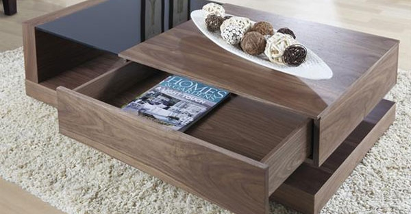 Jual Cube Walnut Occasional Collection