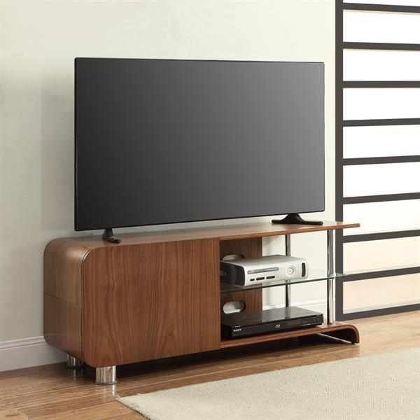 Jual Curve Walnut TV Stand BS202