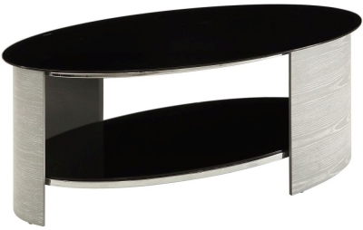 Jual Curve Grey Ash Coffee Table JF301