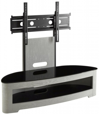 Jual Curve Grey Ash Cantilever TV Stand JF209