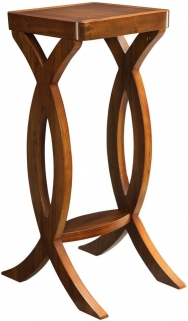 Jual Curve Walnut Large Display Stand JF503