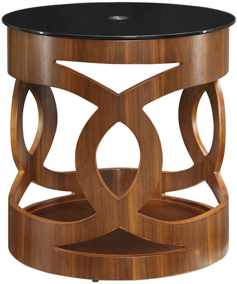 Jual Curve Walnut Lamp Table JF103