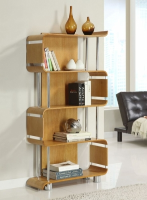Jual Curve Oak Bookshelf BS201