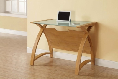 Jual Curve Oak Laptop Table PC201 900LT