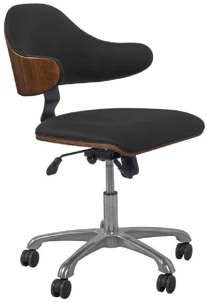 Jual Universal Walnut Swivel Office Chair PC210