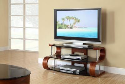 Jual Curve Walnut TV Stand JF203 1100