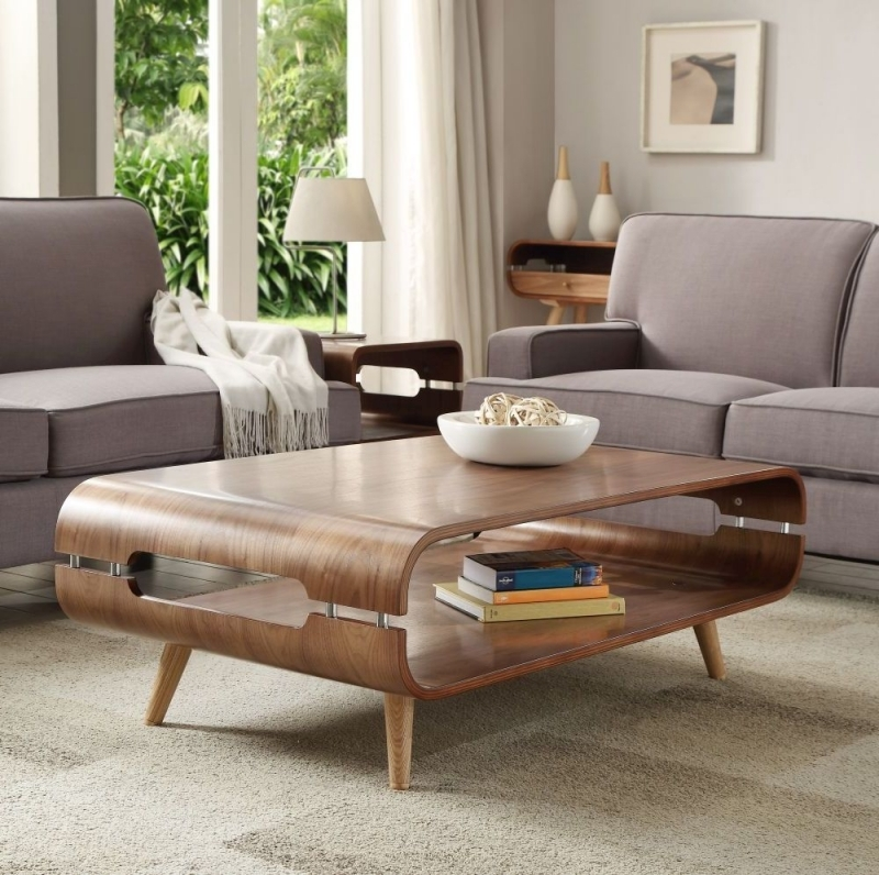 Walnut Oval Coffee Table Uk: Buy Jual Walnut Coffee Table JF703 Online