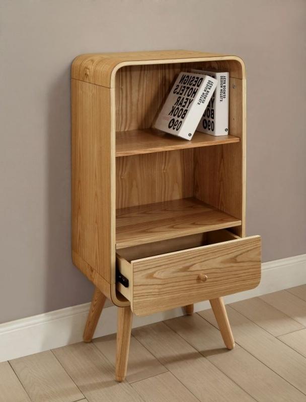Jual Ash Bookcase - 1 Drawer 2 Shelves Short PC704