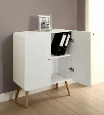 Jual White Filing Cabinet - 2 Door PC706