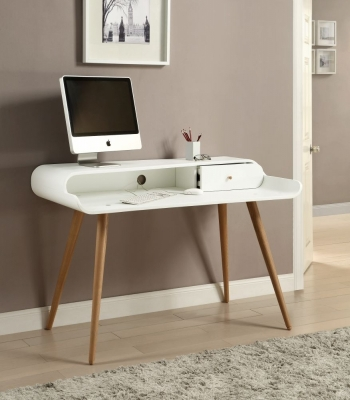 Jual White Tower Desk - 1 Drawer PC702