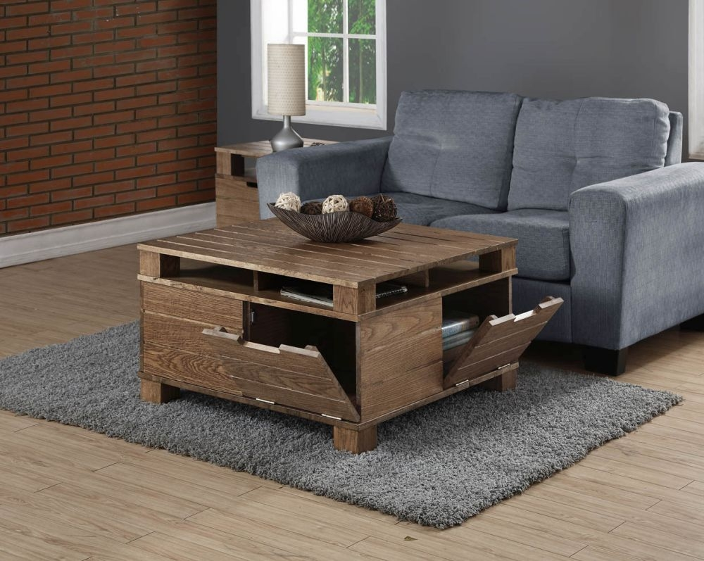 Jual Solid Wood Coffee Table SW202