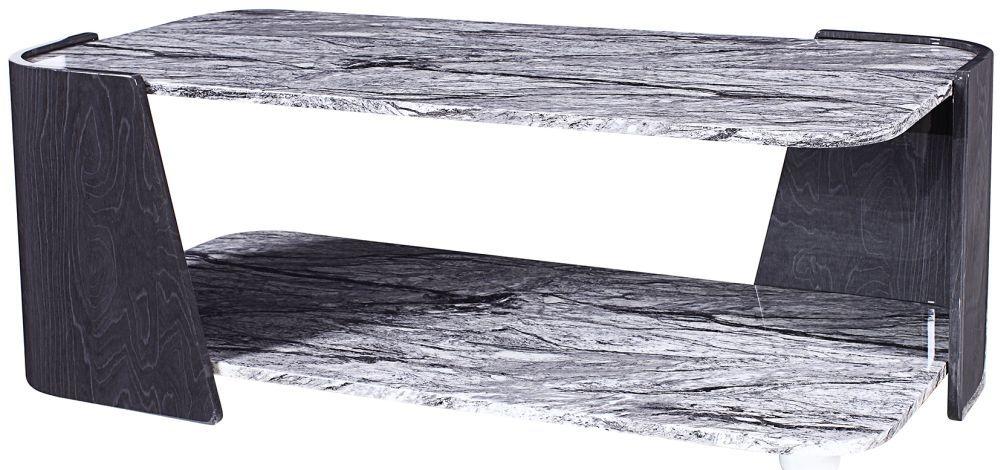 Jual Sorrento Grey Slate High Gloss Coffee Table JF907