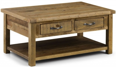 Julian Bowen Aspen Coffee Table with 2 Drawer