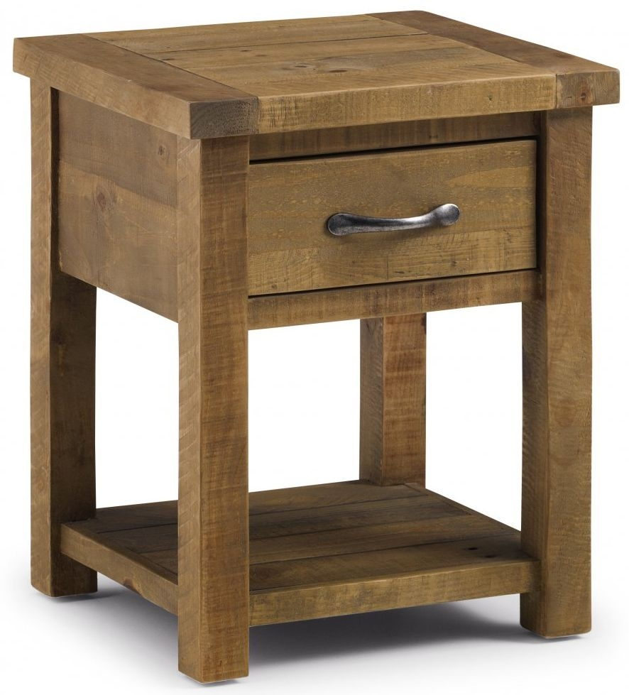 Julian Bowen Aspen 1 Drawer Lamp Table