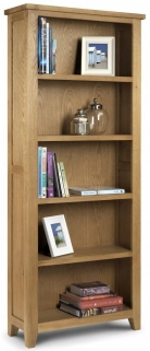 Julian Bowen Astoria Oak Bookcase - Tall