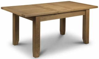 Julian Bowen Astoria Oak Dining Table - Extending