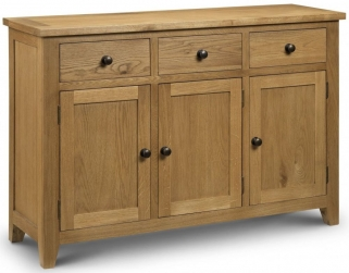 Julian Bowen Astoria Oak Sideboard