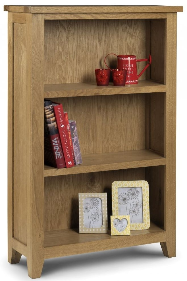 Julian Bowen Astoria Oak Bookcase - Low