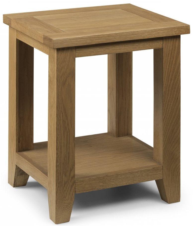 Julian Bowen Astoria Oak Lamp Table
