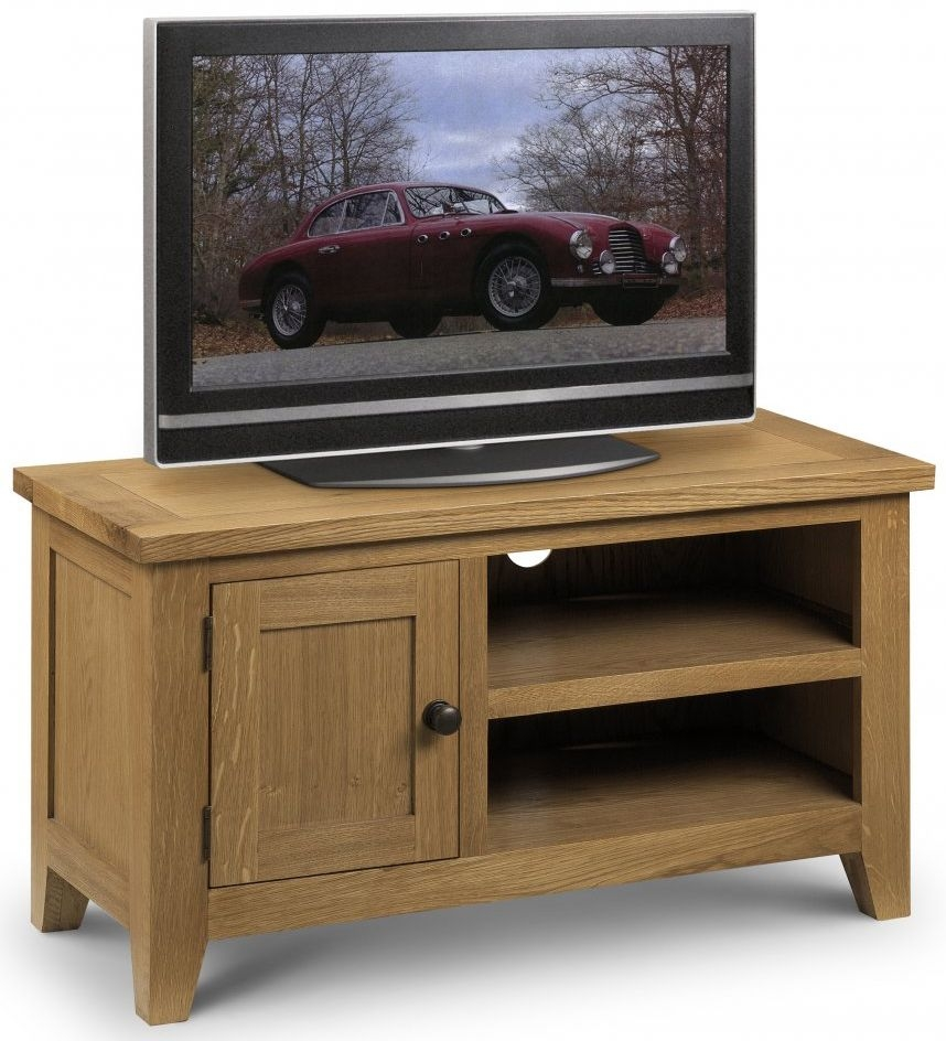 Julian Bowen Astoria Oak TV Unit - 1 Door