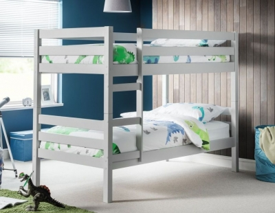 Julian Bowen Camden Dove Grey Bunk Bed