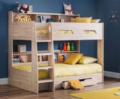 Julian Bowen Orion Sonoma Oak Bunk Bed