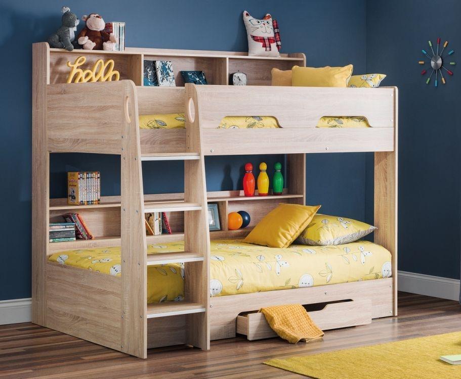 Julian Bowen Orion Bunk Bed - Sonoma Oak