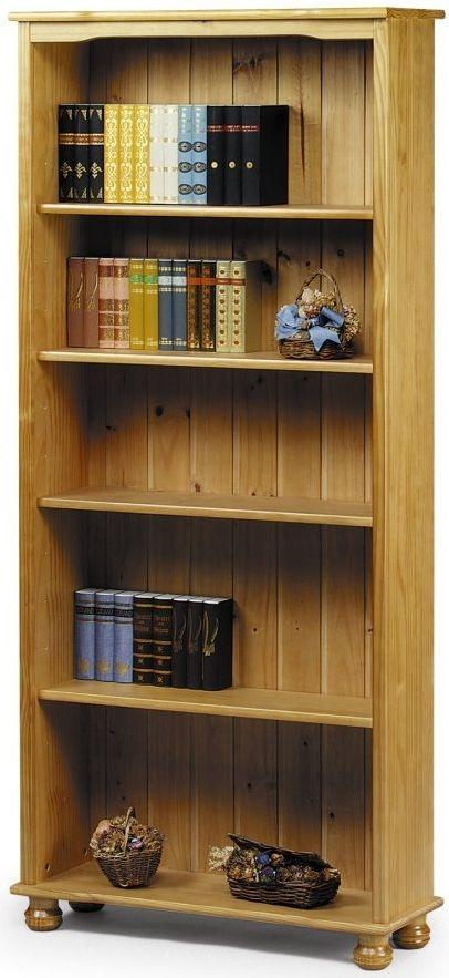 Julian Bowen Cambridge Pine Bookcase