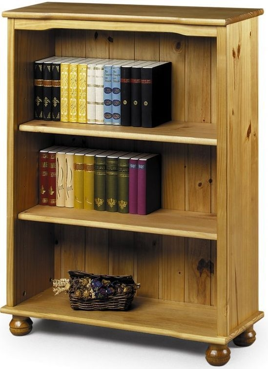 Julian Bowen Oxford Pine Bookcase