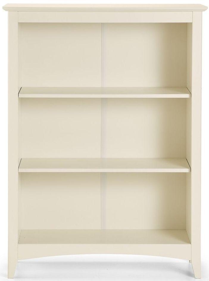 Julian Bowen Cameo Off White Bookcase