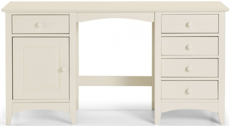 Buy Julian Bowen Cameo Dressing Table Off White Dressing Table