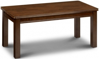 Julian Bowen Canterbury Mahogany Coffee Table