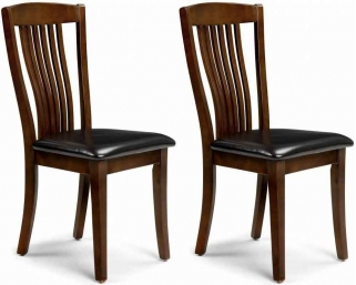 Julian Bowen Canterbury Mahogany Dining Chair (Pair)