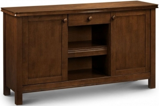 Julian Bowen Canterbury Mahogany Sideboard - 2 Doors 1 Drawer