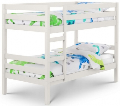 Julian Bowen Camden Surf White Bunk Bed