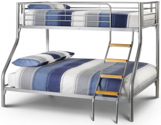 Julian Bowen Atlas Metal Triple Sleeper Bed