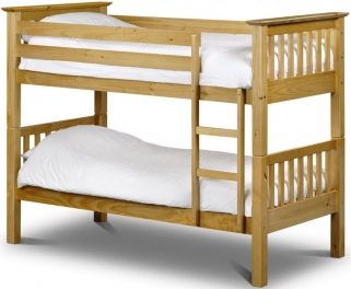 Julian Bowen Barcelona Antique Pine Bunk Bed