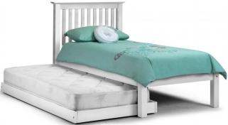 Julian Bowen Barcelona Stone White Hideaway Bed