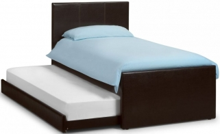 Julian Bowen Cosmo Faux Leather Bed with Guest Bed