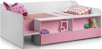 Julian Bowen Stella Pink Low Sleeper Bed