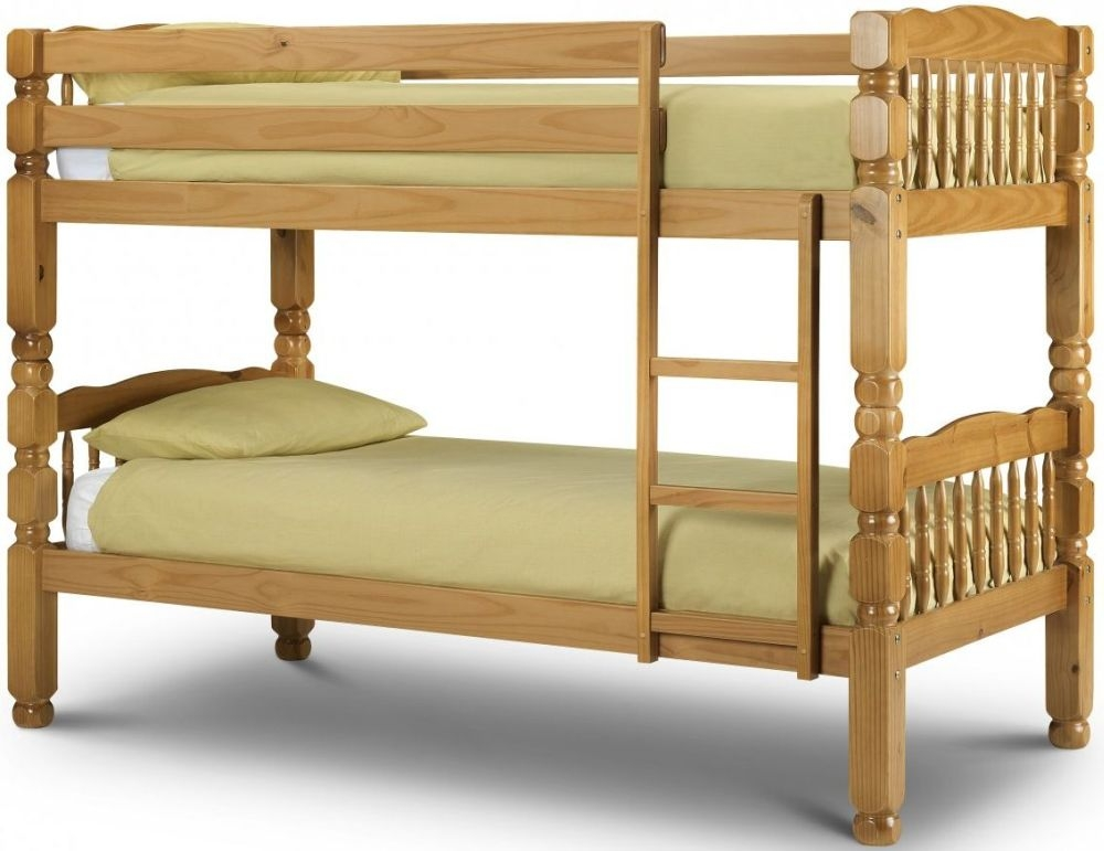 Julian Bowen Chunky Bunk Bed - Pine