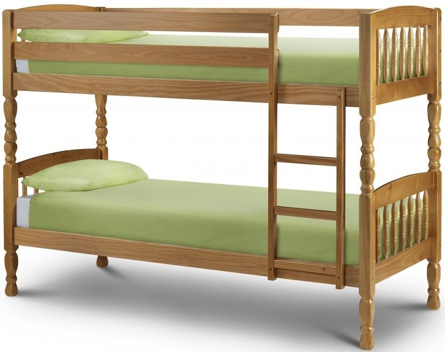 Buy Julian Bowen Lincoln Pine Bunk Bed Online Cfs Uk