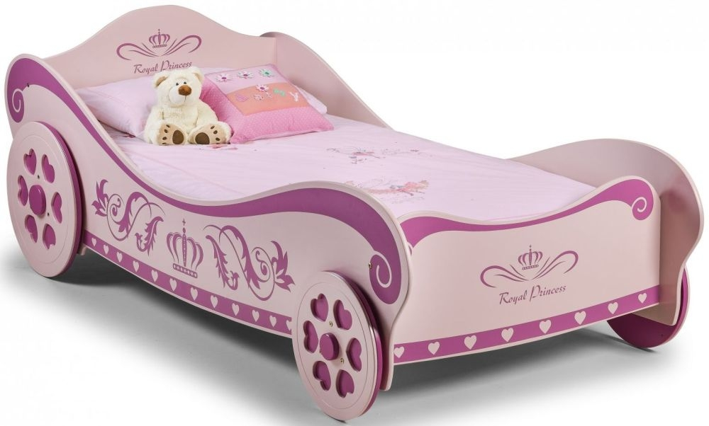 Julian Bowen Princess Pink Charlotte Bed