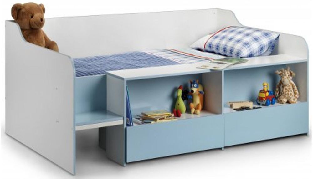 Julian Bowen Stella Blue Low Sleeper Bed