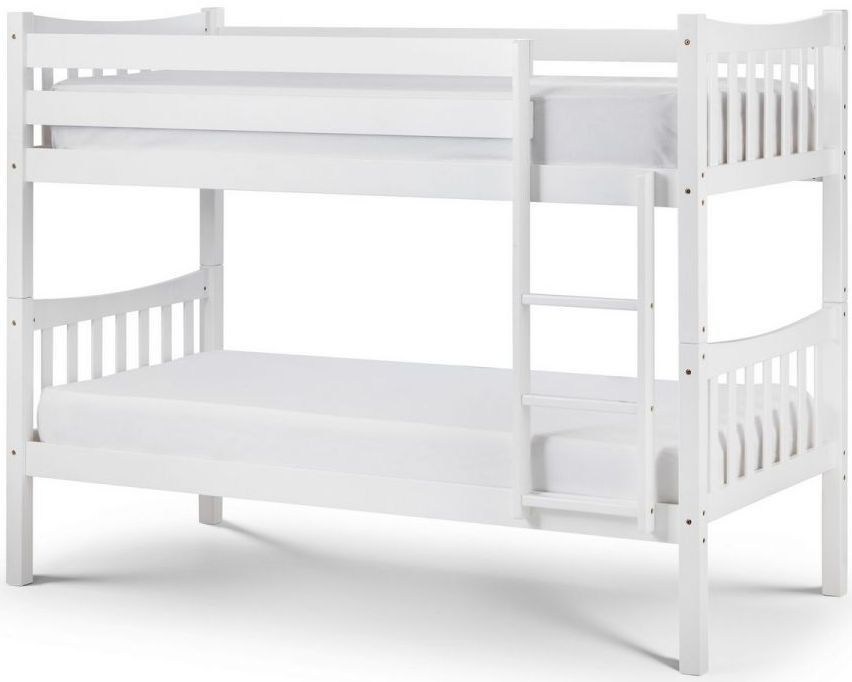 Julian Bowen Zodiac Bright White Bunk Bed