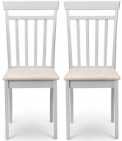 Julian Bowen Coast Pebble Dining Chair (Pair)
