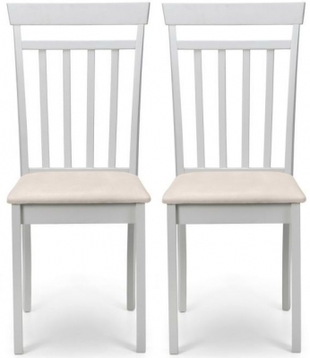 Julian Bowen Coast Pebble Dining Chair (Pair)