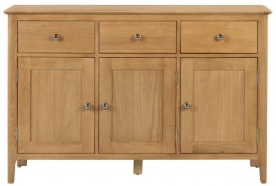 Julian Bowen Cotswold Oak Sideboard